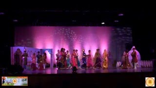Pujarini (পূজারিনী) - Dance Finale (আগুনের পরশমণি), Bangla School Dance at BADFW Durga Puja, 2015