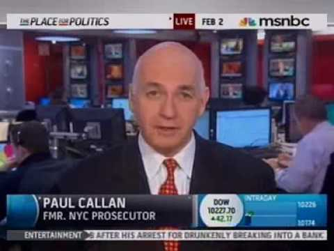 Paul Callan's commentary: Arrest of conservative activist O'Keefe on MSNBC