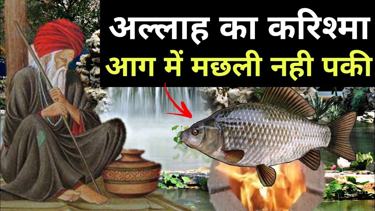 Miracle of Allah , मछली आग में नही पकी , अल्लाह का करिश्मा