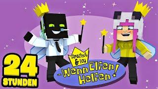 24 STUNDEN als HELFENDE ELFEN ARBEITEN?! - Minecraft [Deutsch/HD]