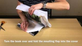 How to Cover a Book (Instructions)