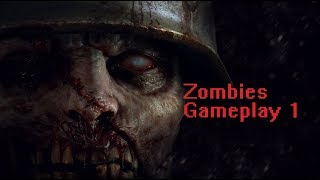 Call of Duty WW2 - Zombies Gameplay - No Commentary