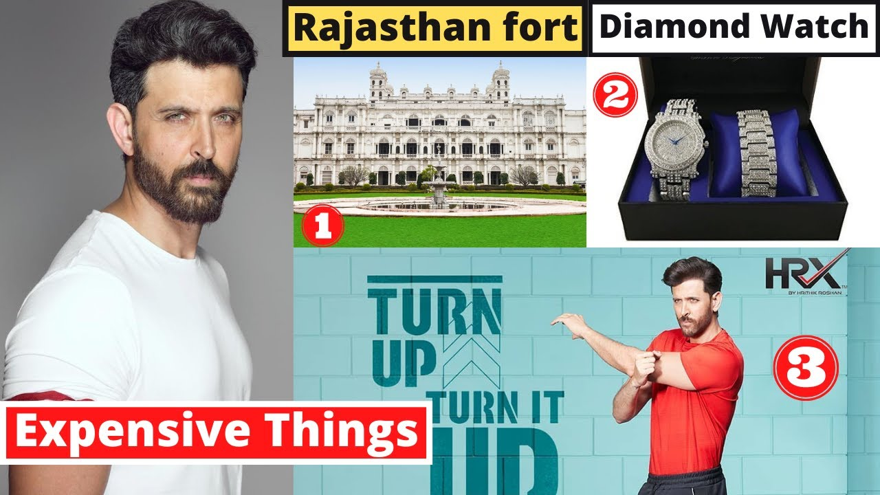10 Most Expensive Things Hrithik Roshan Owns - MET Ep 21