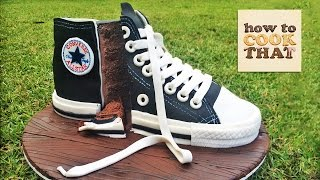 Converse Shoe Cake Tutorial How To Cook That Ann Reardon