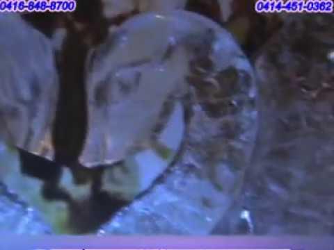 Decoracion para bodas pareja de cisnes en esculturas de for Figuras de decoracion