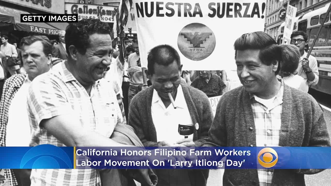 California Honors Filipino Farm Workers Labor Movement On 'Larry Itliong Day'