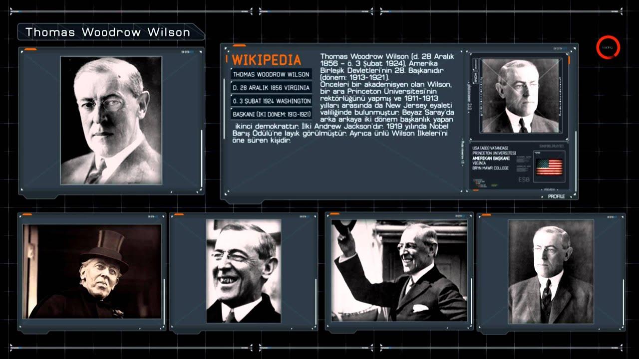Thomas Woodrow Wilson Biyografi - (Kısa Belgesel)