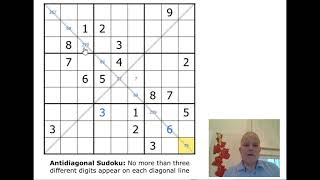 Antidiagonal sudoku - can you work with this rule?