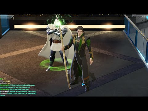 Marvel Heroes - Loki Level 52 Super Power: Frost Giant Form - YouTube