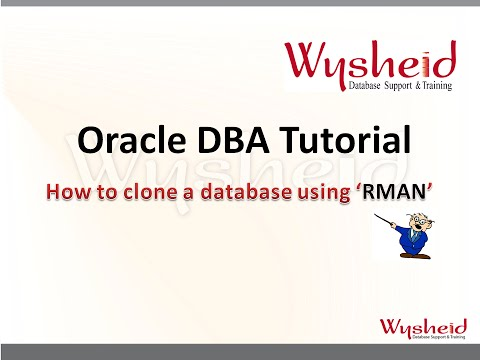 Steps to clone a database using rman