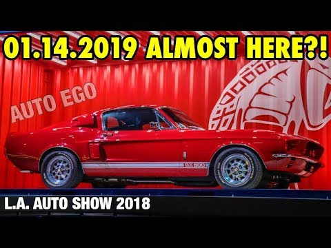 FIRST look AT the 2020 GT500 official RELEASE date CONFIRMED at THE 2018 L.A. AUTO show it's HERE?!