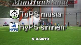 Mini Huuhkajat TuPS musta vs HyPS sininen