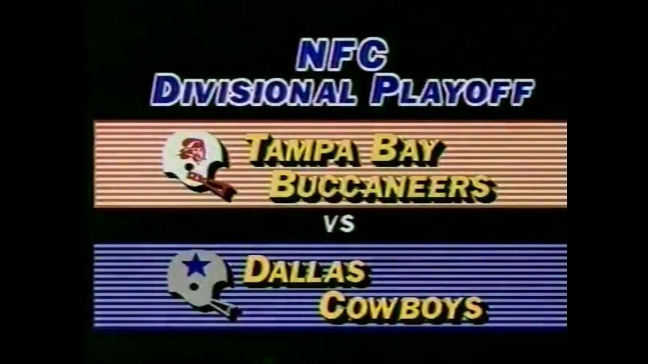 1982 01 02 Nfc Divisional Tampa Bay Buccaneers Vs Dallas Cowboys Youtube