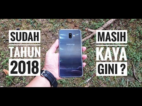 Rp 2,7juta || Samsung Galaxy J6 Plus Unboxing Hands On - Indonesia