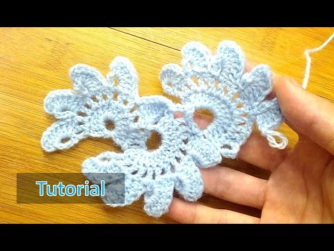 How To Crochet Lotus Flower Lace Updated Youtube