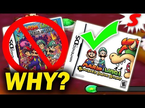 Why Did Nintendo Reject Mario Luigi Partners In Time The Real