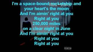 Eminem - Space bound lyrics
