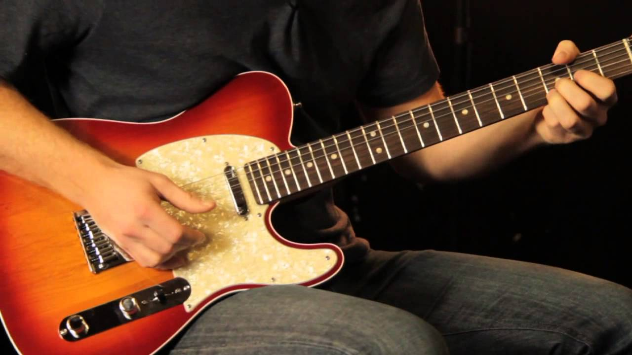 fender american deluxe telecaster tone review and demo