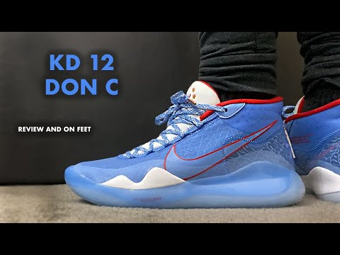Nike KD 12 Don C Review and On Feet