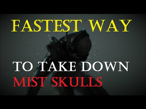 Easy way to take down all Mist Skulls - Metal Gear Solid V