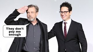 Mark Hamill Has Had Enough With JJ Abrams Secrecy