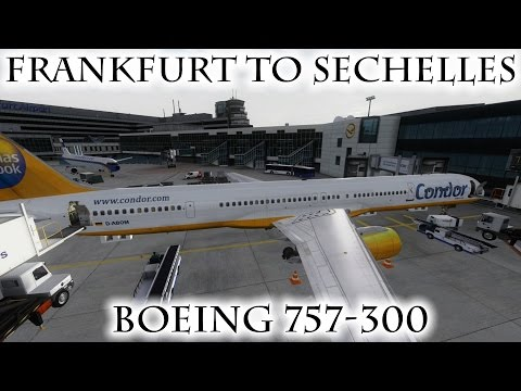 FSX | Frankfurt (EDDF) to Seychelles (FSIA) | 757-300