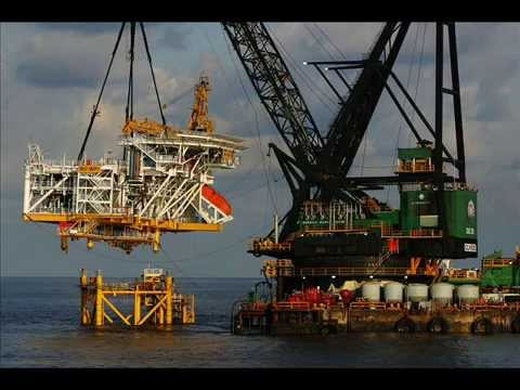 Oil and Gas construction in offshore