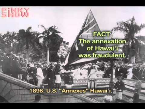 U.S Imperialism: The illegal annexation of Hawai'i