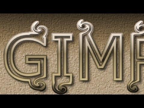 GIMP 2.8 Tutorial - Fancy Text
