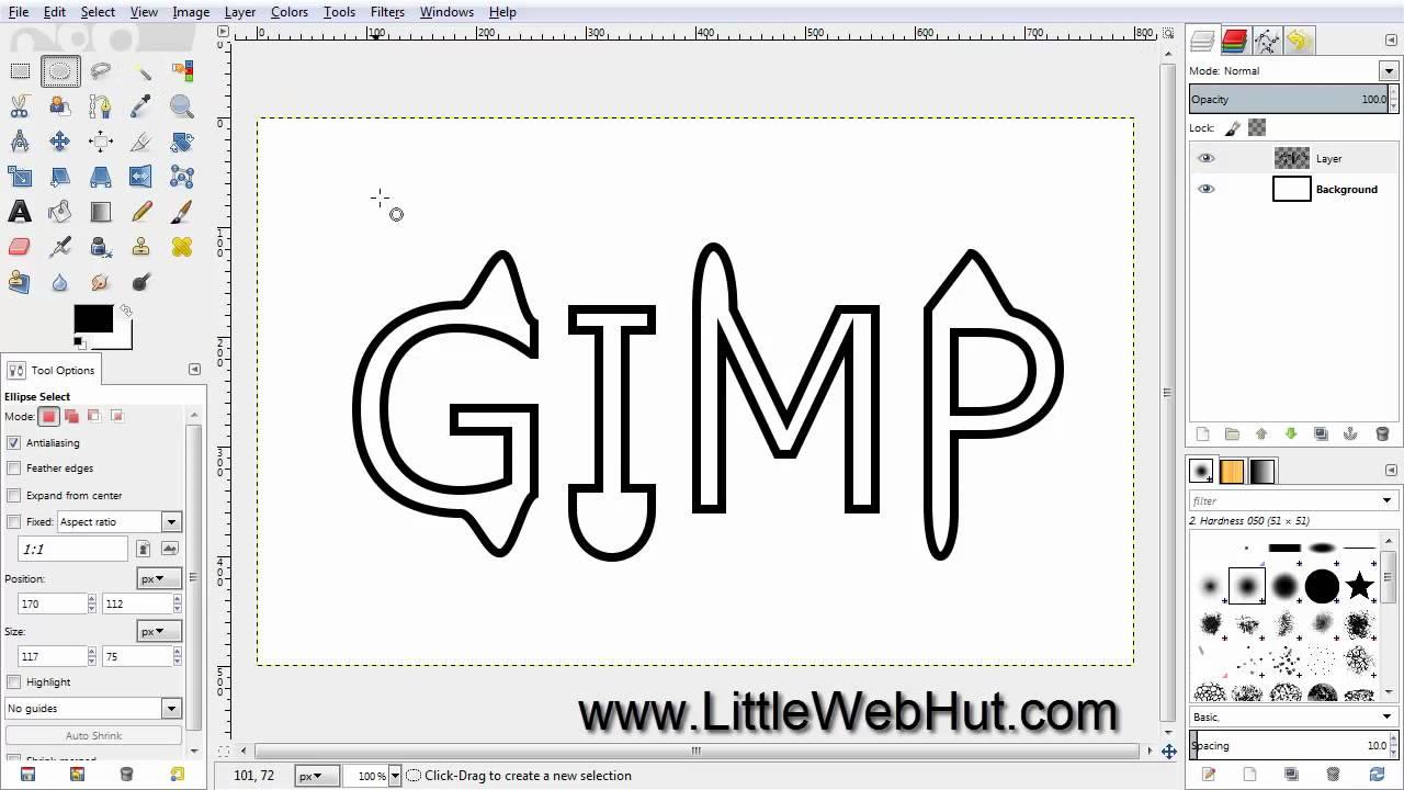gimp 2.8 fonts