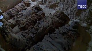 17 мумий найдены в подземной египетской гробнице