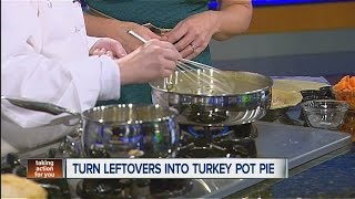 Turn Leftovers Into Turkey Pot Pie