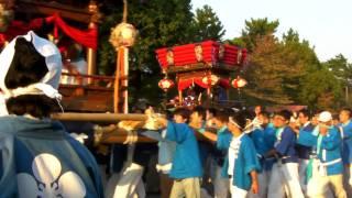 斑鳩神社「秋祭り」太鼓台巡行