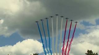 AMAZING FLYOVER! D-Day 75 Year Anniversary in Normandy, France