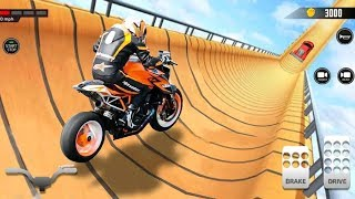 Super Hero Bike Vs Car Racing Game #Motor Cycle Race Game #Bike Games 3D For Android #Racing Games