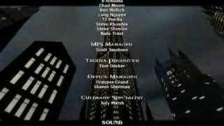Vampire: The Masquerade - Bloodlines, Credits Scroll