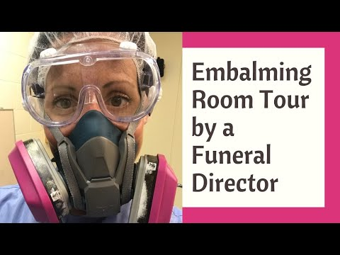Embalming Room Tour