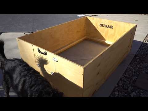 How To Build Make A Puppy Whelping Box DIY