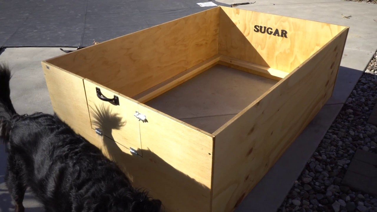 how to build a whelping box for a lab