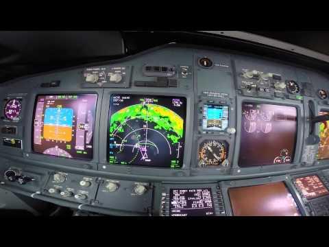 PFD view B737-800 - Manchester Approach 23R