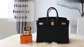 Скачать Hermes Birkin 25 Review What S In My Bag Modelling Shots 終極包王愛馬仕鉑金