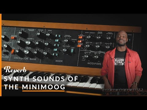 Synth Sounds Of Minimoog: Parliament, Pink Floyd, Dr. Dre & More | Reverb