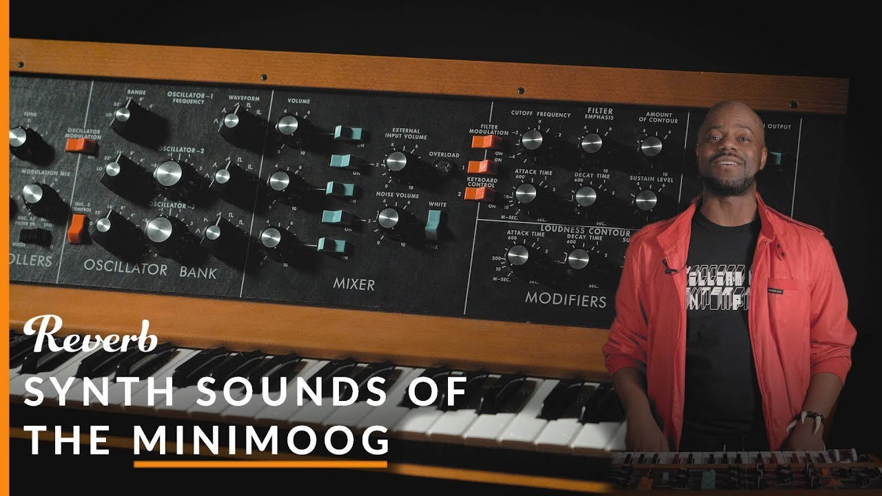 Synth Sounds of Minimoog: Parliament, Pink Floyd, Dr  Dre & More | Reverb