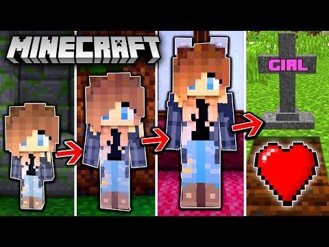 MÄDCHEN LEBENSZYKLUS in Minecraft - Vom Kind zur FRAU!