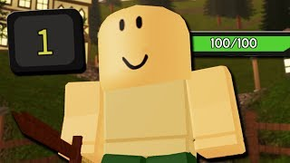 The worlds WORST dungeon quest player carried me... (Roblox)