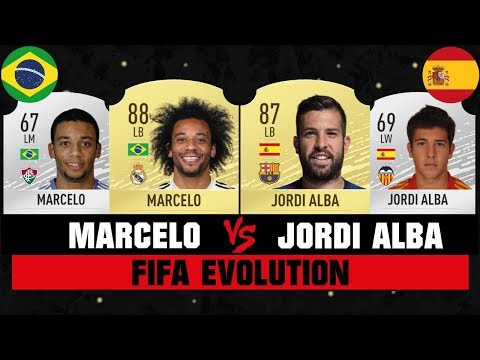 MARCELO VS ALBA FIFA EVOLUTION 😱🔥| FIFA 07 - FIFA 20