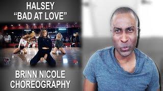 Bad at Love | Halsey | Brinn Nicole Choreography Reaction