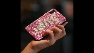 flashy phone cover for iphone X