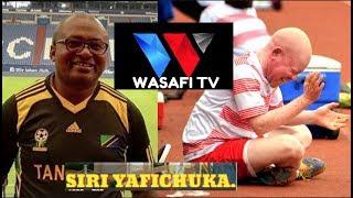SIRI YAFICHUKA/SHAFFIH aliomba kazi WASAFI TV/DIAMOND AKAMKATAA - MANARA.