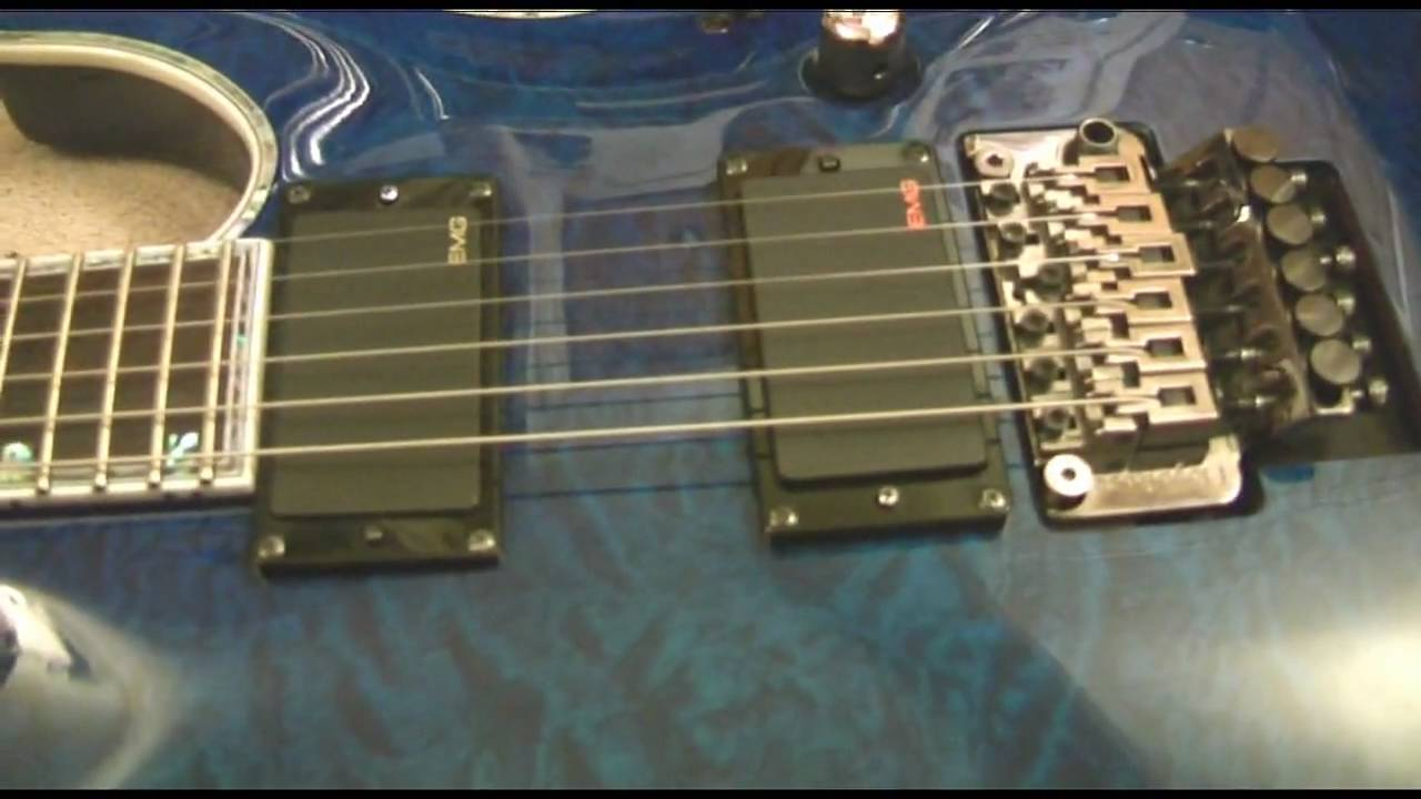 Esp Ltd Mh 1000 Demo With Coil Tap Emg Mod Youtube Emgactivepickupwiring Active Pickup Wiring Http